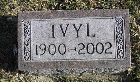 PETERSON, IVYL - Hamilton County, Iowa   IVYL PETERSON