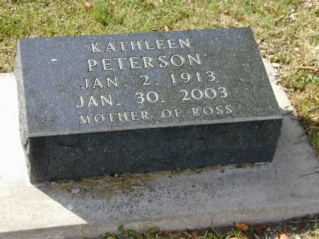 ROSS PETERSON, KATHLEEN - Hamilton County, Iowa | KATHLEEN ROSS PETERSON