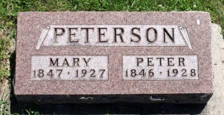 PETERSON, MARY - Hamilton County, Iowa | MARY PETERSON