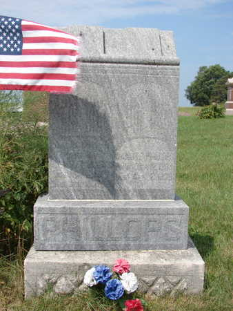 CHRISTIANSDATTER PHILLOPS, MALENE - Hamilton County, Iowa   MALENE CHRISTIANSDATTER PHILLOPS
