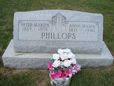 PHILLOPS, ANNA MARIA - Hamilton County, Iowa | ANNA MARIA PHILLOPS