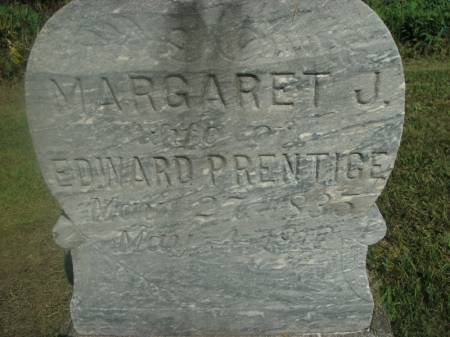 PRENTICE, MARGARET J. - Hamilton County, Iowa   MARGARET J. PRENTICE