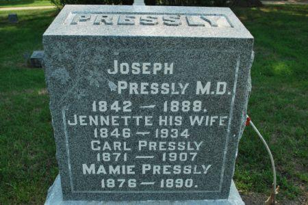 PRESSLY, MAMIE - Hamilton County, Iowa | MAMIE PRESSLY