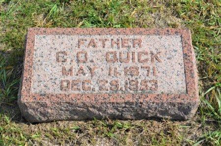 QUICK, C. O. - Hamilton County, Iowa | C. O. QUICK