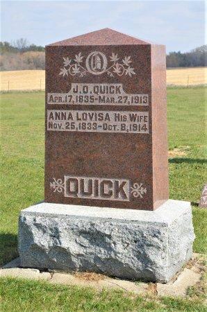 QUICK, ANNA LOVISA - Hamilton County, Iowa   ANNA LOVISA QUICK