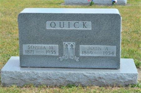 QUICK, SOPHIA M. - Hamilton County, Iowa   SOPHIA M. QUICK