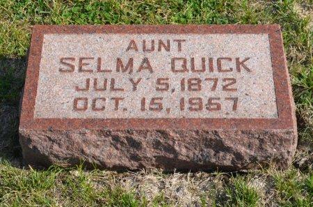 QUICK, SELMA - Hamilton County, Iowa | SELMA QUICK