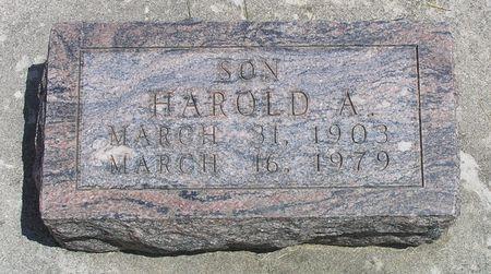 RAHTO, HAROLD A. - Hamilton County, Iowa | HAROLD A. RAHTO