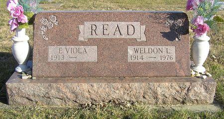 READ, WELDON L. - Hamilton County, Iowa   WELDON L. READ