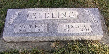 REDLING, HENRY J. - Hamilton County, Iowa | HENRY J. REDLING