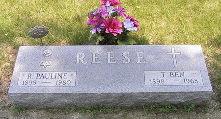 REESE, R. PAULINE - Hamilton County, Iowa | R. PAULINE REESE