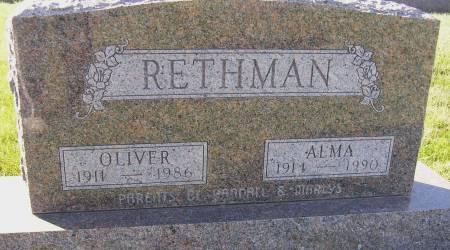 RETHMAN, OLIVER - Hamilton County, Iowa | OLIVER RETHMAN