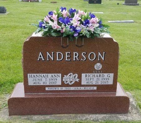 RICHARD G., ANDERSON - Hamilton County, Iowa | ANDERSON RICHARD G.