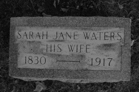 WATERS RICHARDSON, SARAH JANE - Hamilton County, Iowa   SARAH JANE WATERS RICHARDSON