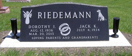 RIEDEMANN, DOROTHY I. - Hamilton County, Iowa | DOROTHY I. RIEDEMANN