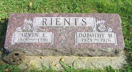 HOBBS RIENTS, DOROTHY M. - Hamilton County, Iowa | DOROTHY M. HOBBS RIENTS