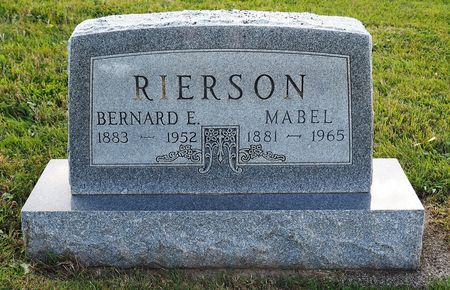 RIERSON, MABEL - Hamilton County, Iowa | MABEL RIERSON