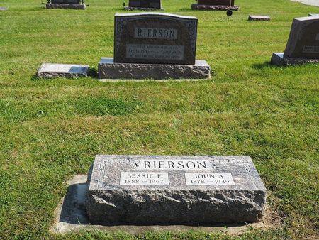 RIERSON, BRITTA E. - Hamilton County, Iowa   BRITTA E. RIERSON
