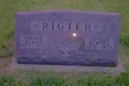 RIGTER, KLASS - Hamilton County, Iowa | KLASS RIGTER
