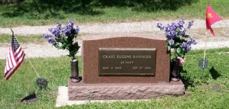 RININGER, CRAIG EUGENE - Hamilton County, Iowa | CRAIG EUGENE RININGER
