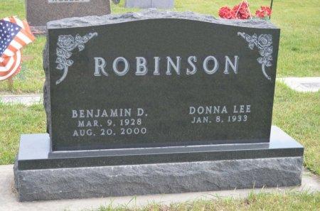 ROBINSON, BENJAMIN D. - Hamilton County, Iowa   BENJAMIN D. ROBINSON