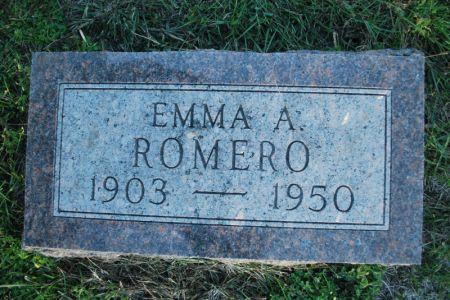 ROMERO, EMMA A. - Hamilton County, Iowa   EMMA A. ROMERO