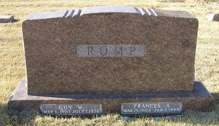 ROMP, FRANCES A. - Hamilton County, Iowa | FRANCES A. ROMP