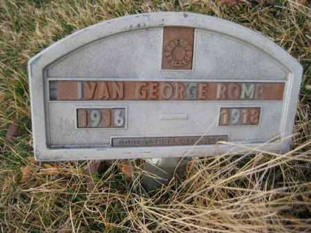 ROMP, IVAN GEORGE - Hamilton County, Iowa | IVAN GEORGE ROMP