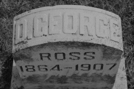 ROSS, D. GEORGE - Hamilton County, Iowa   D. GEORGE ROSS