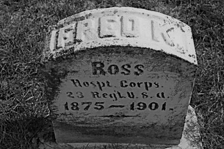 ROSS, FRED K. - Hamilton County, Iowa   FRED K. ROSS