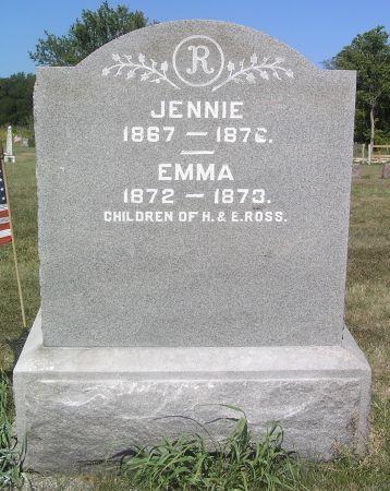 ROSS, EMMA - Hamilton County, Iowa   EMMA ROSS