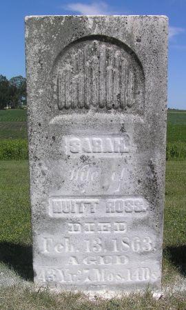 ROSS, SARAH - Hamilton County, Iowa | SARAH ROSS