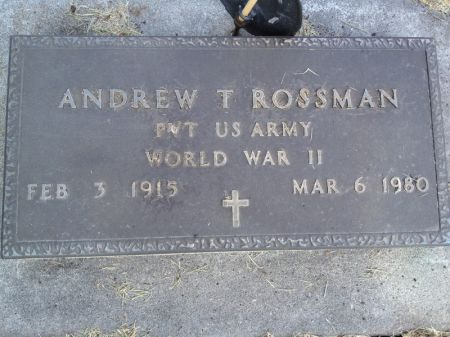 ROSSMAN, ANDREW T. - Hamilton County, Iowa   ANDREW T. ROSSMAN