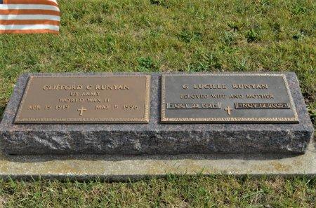 CARLSTEDT RUNYAN, G. LUCILLE - Hamilton County, Iowa   G. LUCILLE CARLSTEDT RUNYAN