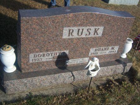 RUSK, DUANE M. - Hamilton County, Iowa   DUANE M. RUSK