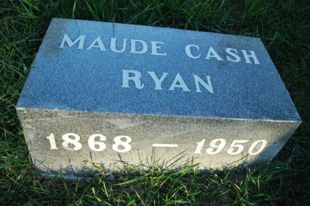 RYAN, MAUDE CASH - Hamilton County, Iowa | MAUDE CASH RYAN