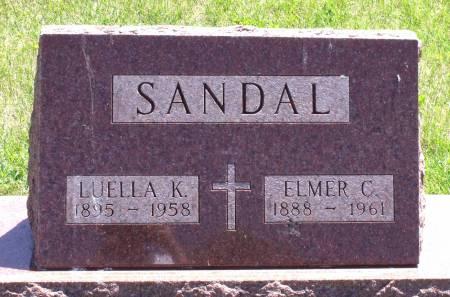 SANDAL, ELMER C. - Hamilton County, Iowa | ELMER C. SANDAL
