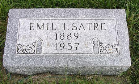 SATRE, EMIL I. - Hamilton County, Iowa   EMIL I. SATRE