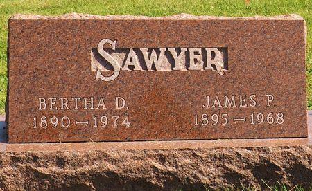 SAWYER, BERTHA D. - Hamilton County, Iowa | BERTHA D. SAWYER