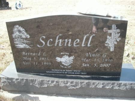 SCHNELL, VINIE G. - Hamilton County, Iowa | VINIE G. SCHNELL
