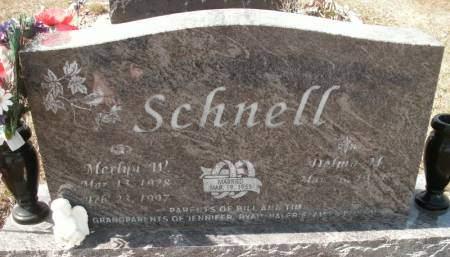 SCHNELL, MERLYN W. - Hamilton County, Iowa | MERLYN W. SCHNELL