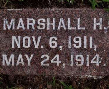SCHNELL, MARSHALL H. - Hamilton County, Iowa | MARSHALL H. SCHNELL