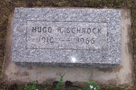 SCHROCK, HUGO A, - Hamilton County, Iowa | HUGO A, SCHROCK