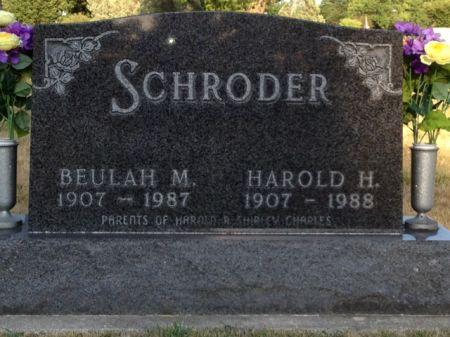 SCHRODER, HAROLD H. - Hamilton County, Iowa | HAROLD H. SCHRODER