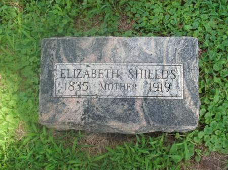 SHEILDS, ELIZABETH - Hamilton County, Iowa | ELIZABETH SHEILDS