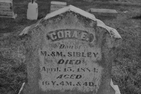 SIBLEY, CORA E. - Hamilton County, Iowa   CORA E. SIBLEY