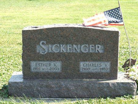 SICKENGER, ESTHER V. - Hamilton County, Iowa | ESTHER V. SICKENGER