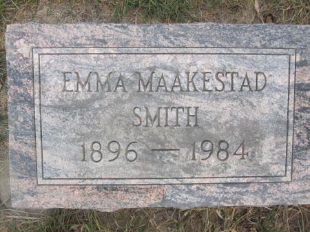 MAAKESTAD SMITH, EMMA - Hamilton County, Iowa | EMMA MAAKESTAD SMITH