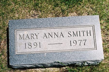 SMITH, MARY ANNA - Hamilton County, Iowa | MARY ANNA SMITH