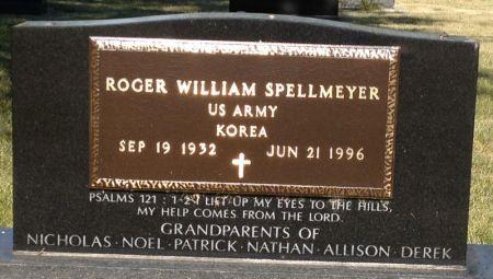 SPELLMEYER, ROGER WILLIAM - Hamilton County, Iowa   ROGER WILLIAM SPELLMEYER